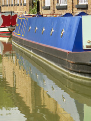 barge reflection
