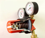 gas mixing valve poster