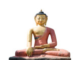 dhyani buddha aksobhya statue poster