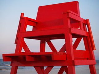 life guard's chair