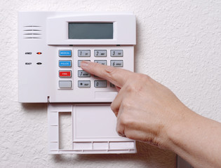 setting the alarm system