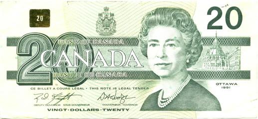 20 canadian dollars