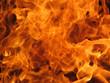 Leinwandbild Motiv flames