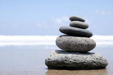 zen en la playa