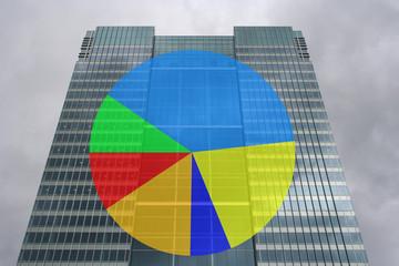 skyscraper pie chart