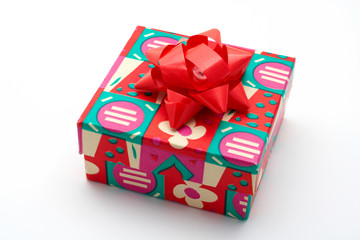 gift box on white background