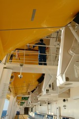 maintenance on cruise ship