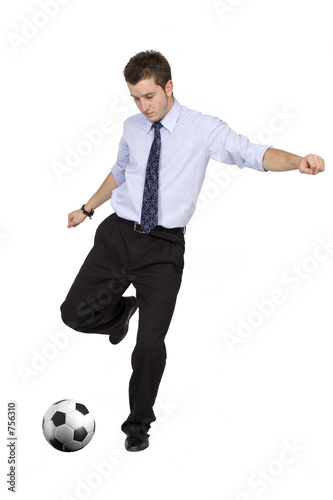 business footballer 1