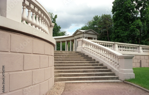 staircase of colonnade