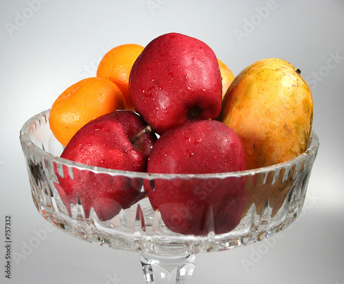 mixed fruit in a bowl.