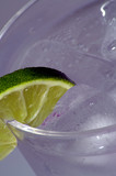 cold drink with lime 2 poster