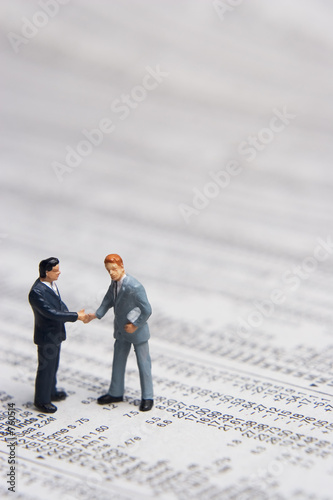 poster of business and stocks