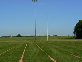 country rugby pitch