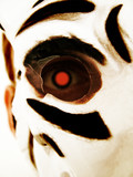 close up of tiger mask poster