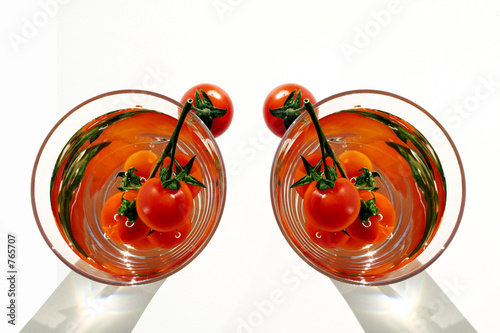 cocktail tomate Poster
