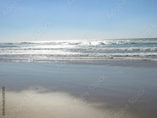 marée basse à agadir