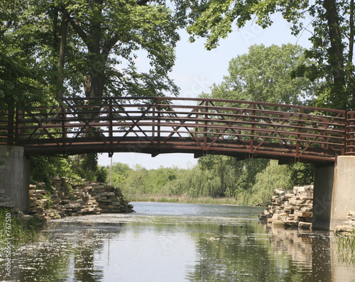 bridge in forest park