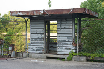 old guard shack