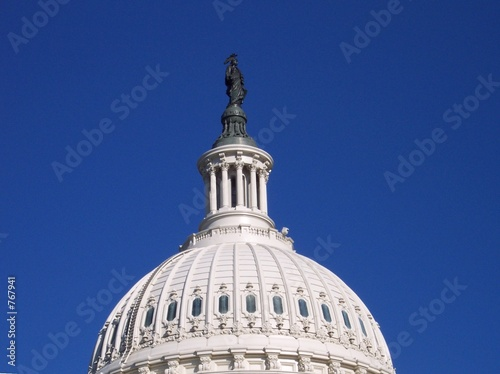 tip of the capitol building