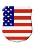 usa landesfarben symbol poster