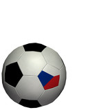 world cup soccer/football - czech republic poster