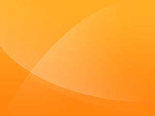 simple orange ox background