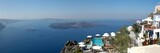 santorini panorama, greece poster