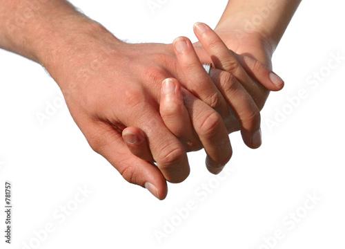 poster of je te tiens par la main