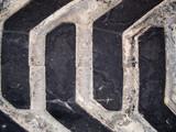macro texture - industrial - tires poster
