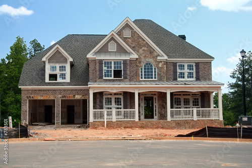 brand new home under construction