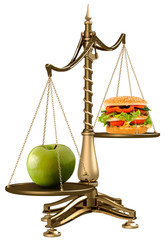 apples instead of hamburgers