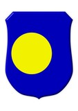 palau flagge symbol poster