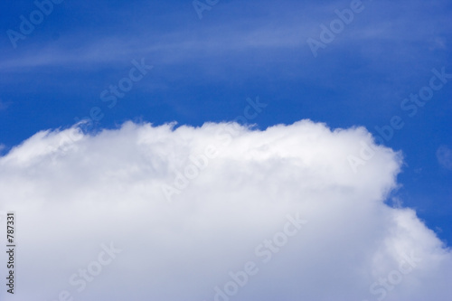 poster of big cloud in the sky