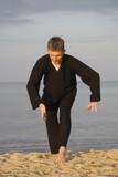tai chi - posture needle at sea bottom poster