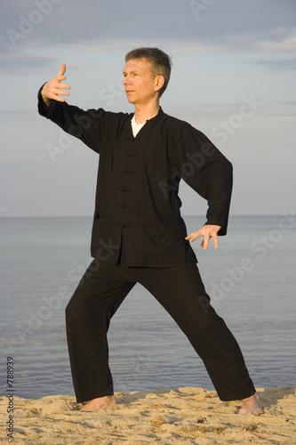 tai chi - posture ward-off