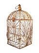 antique bird cage