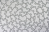 complete silver jigsaw poster