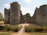 ancient castle ruin turret poster
