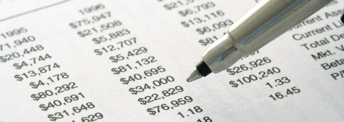 still-life of financial statement