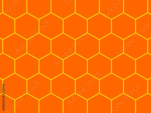 bees honeycomb background
