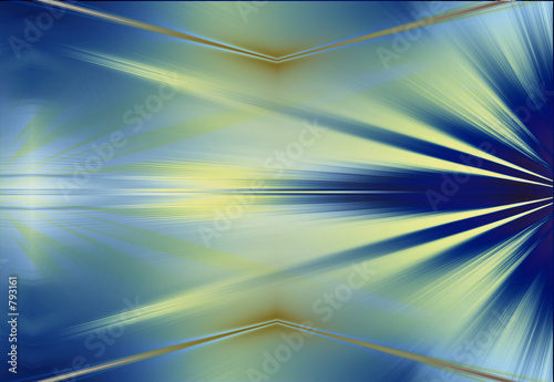 poster of rays abstract background