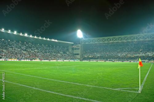 crowded stadium
