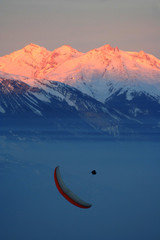 paraglider switzerland