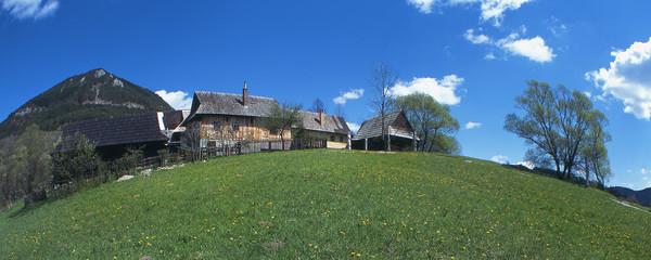 wood village