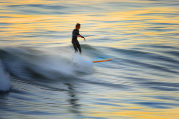 sunset surfer blur 2