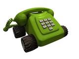 telephone_green left poster