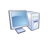 Fototapety computer icon