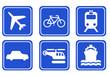 piktogramme transport