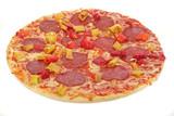 pizza salami poster