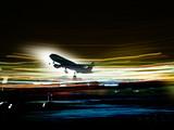 aeroplane taking off poster